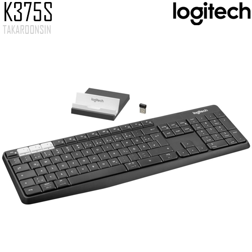 ชุดคีย์บอร์ดและเมาส์ Logitech K375S