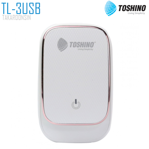ปลั๊กแปลง TOSHINO TL-3USB