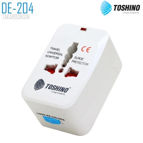 ปลั๊กแปลง TOSHINO DE-204 4 in 1