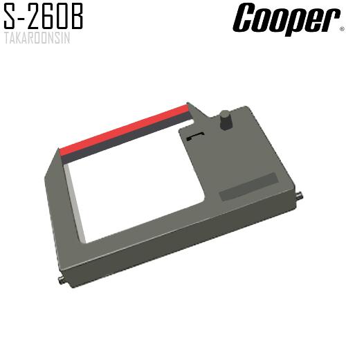 ผ้าหมึกเครื่องตอกบัตร COOPER S-260B
