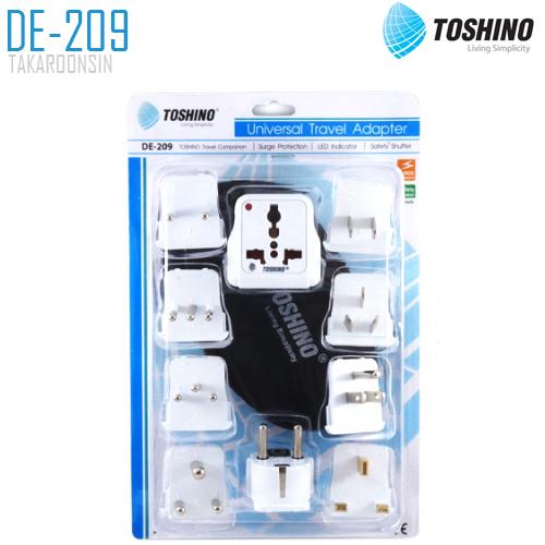 ปลั๊กแปลง TOSHINO DE-209 9 in 1