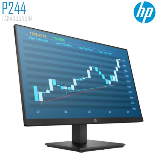 จอ MONITOR 23.8 นิ้ว FHD IPS HP P244