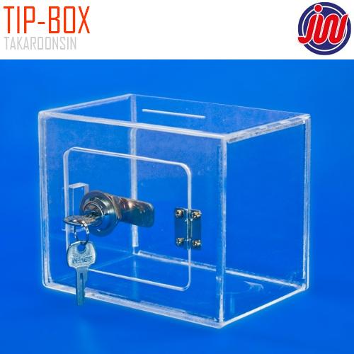 กล่องอะครีลิคใส JW รุ่น TIP-BOK