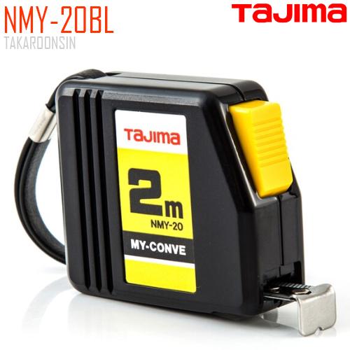 ตลับเมตร TAJIMA MY-CONVEY NMY-20BL ยาว 2.0 เมตร