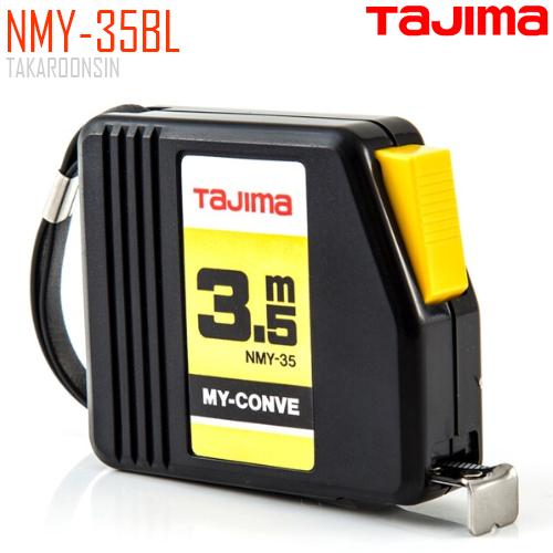 ตลับเมตร TAJIMA MY-CONVEY NMY-35BL ยาว 3.5 เมตร