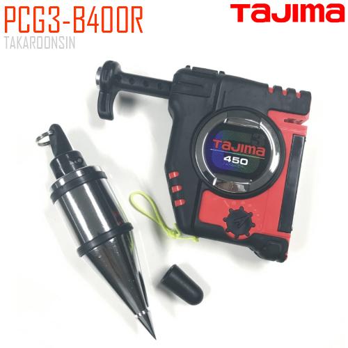 เครื่องมือวางแนว ลูกดิ่ง TAJIMA PCG3-B400R สีแดง