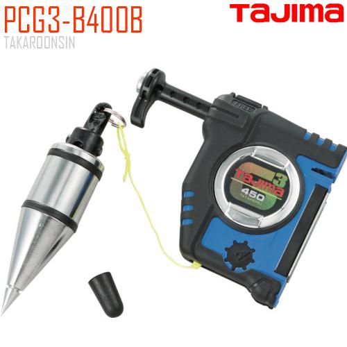 เครื่องมือวางแนว ลูกดิ่ง TAJIMA PCG3-B400B สีน้ำเงิน