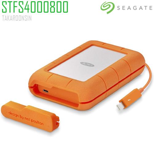 SEAGATE LACIE 4TB RUGGED THUNDERBOLT & USB 3.1 Type C (STFS4000800)