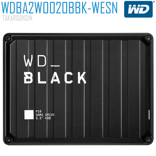 WD BLACK P10 GAME DRIVE 2TB BLACK 2.5