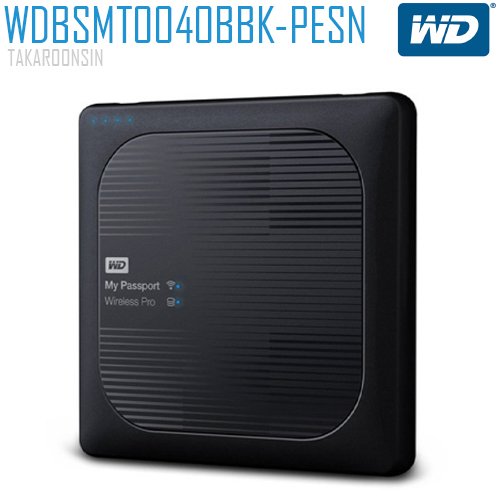 MY PASSPORT WIRELESS PRO 4TB BLACK