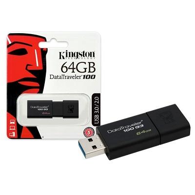 USB Flash Drive DT100G3 64 GB Kingston
