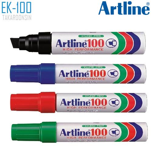 ปากกาเคมี หัวตัด ARTLINE EK-100