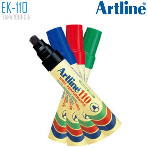 ปากกาเคมี หัวกลม ARTLINE EK-110