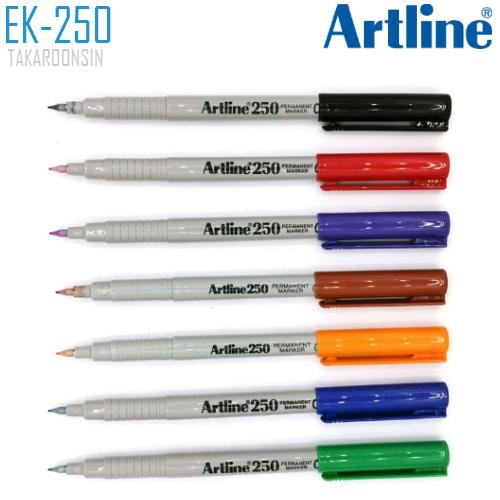 ปากกาเคมี หัวเข็ม ARTLINE EK-250