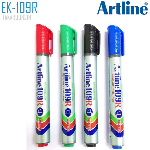 ปากกาเคมี หัวตัด ARTLINE EK-109R