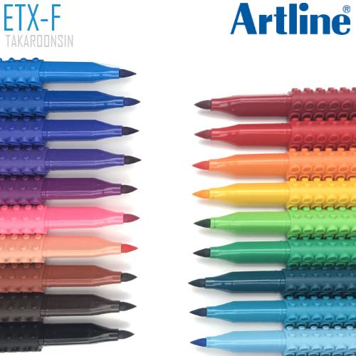ปากกาหัวพู่กัน BLOX ETX-F