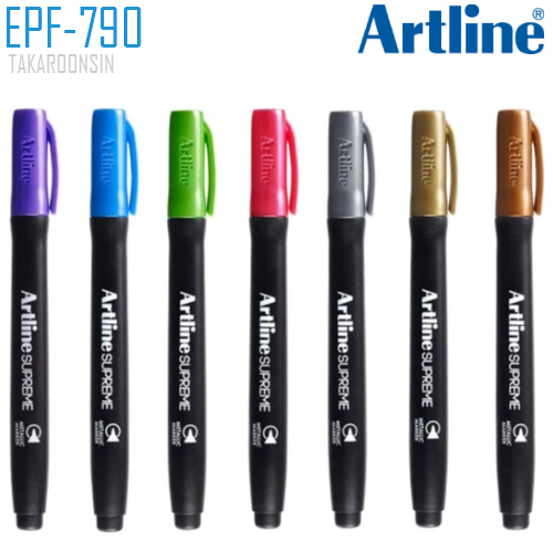 ปากกามาร์คเกอร์  หัวกลม ARTLINE EPF-790
