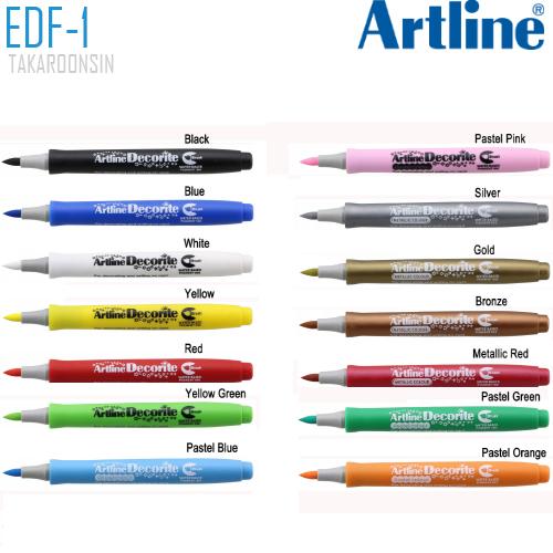 ปากกา DECORITE ARTLINE EDF-1