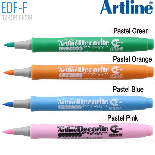 ปากกา DECORITE ARTLINE EDF-F/P (สีพาสเทล)