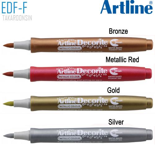 ปากกา DECORITE ARTLINE EDF-F/M (สีเมทาลิค)