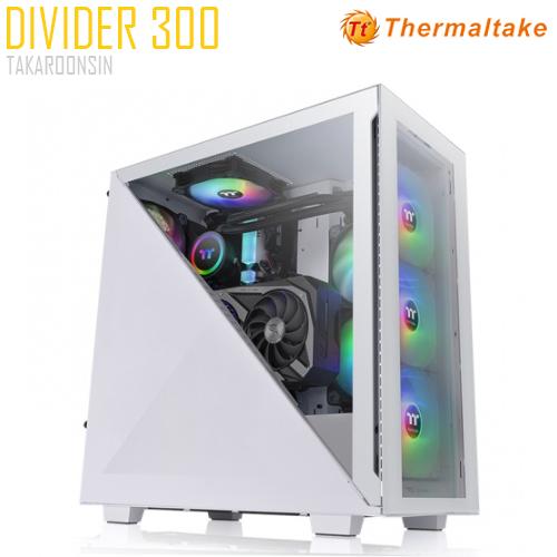 THERMALTAKE DIVIDER 300 WHITE TG ARGB
