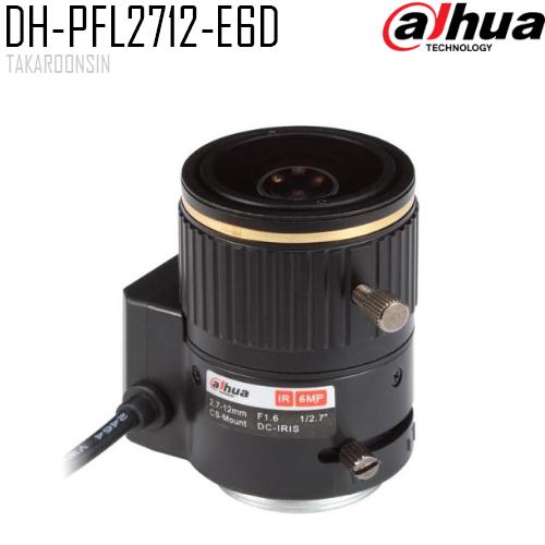 Lens  DAHUA MP 2.7-12mm F1.6 PFL2712-E6D 6MP
