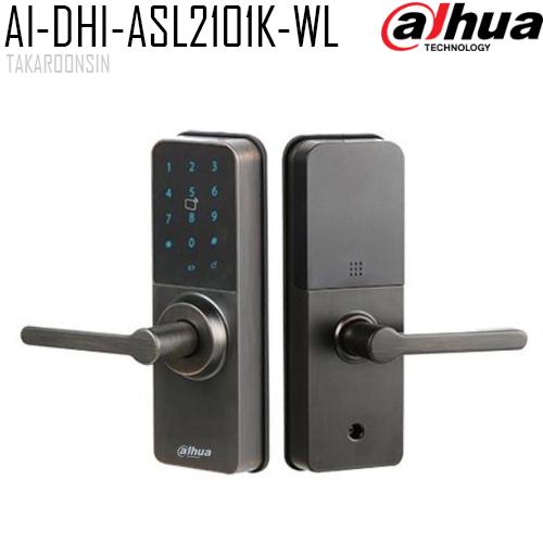 ตัวล็อคประตูอัจฉริยะ LEFT-OPEN DAHUA รุ่น AI-DHI-ASL2101K-WL
