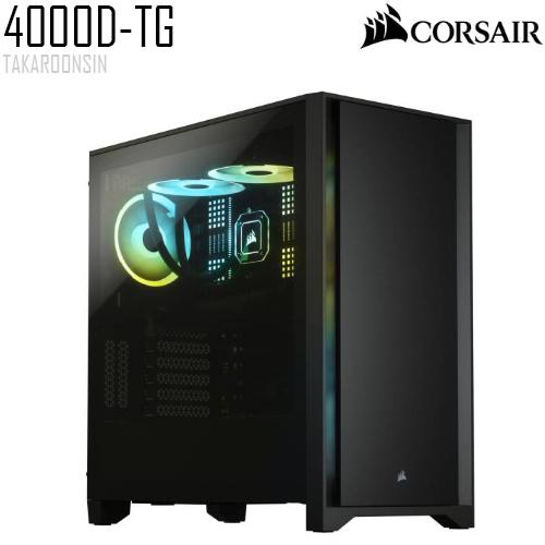 CORSAIR 4000D TG BLACK