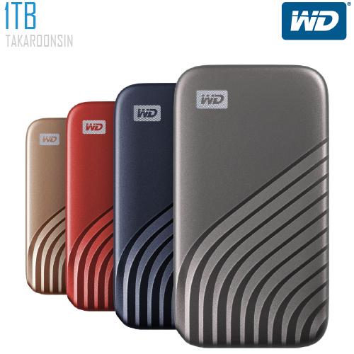 เอ็กซ์เทอนอล ฮาร์ดไดร์ฟ WD 1TB รุ่น MY PASSPORT SSD
