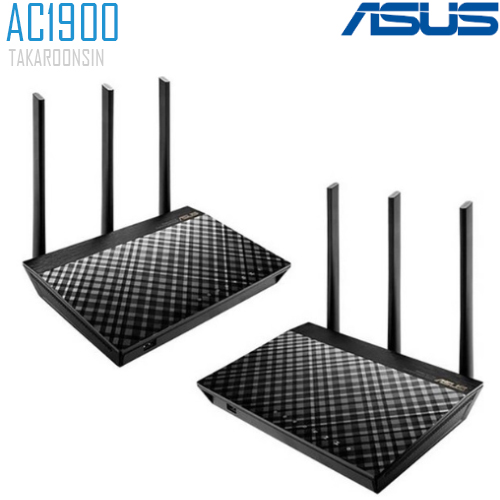 ASUS ROUTER AiMesh AC1900 WiFi System (PACK 2)