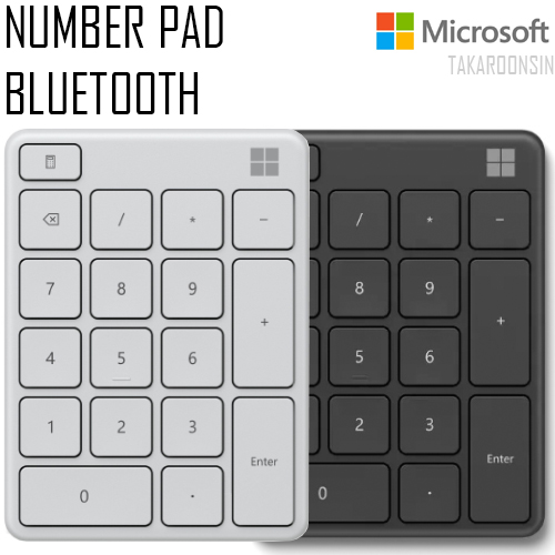 แป้นตัวเลข MICROSOFT NUMBER PAD BLUETOOTH