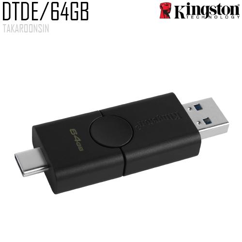 USB Flash Drive DTDE 64 GB Kingston