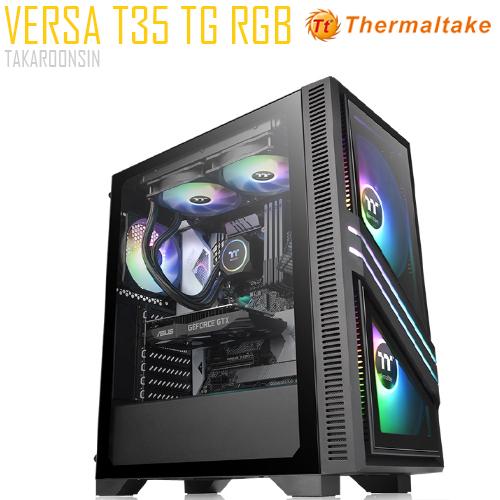 THERMALTAKE VERSA T35 BLACK TG RGB