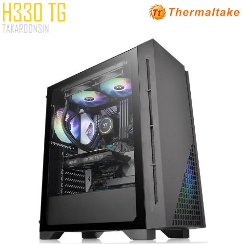 THERMALTAKE H330 BLACK TG