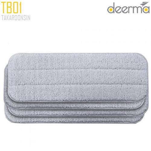 ผ้าไม้ม๊อบ DEERMA Spray Mop TB500 Mop Pad (4pcs)