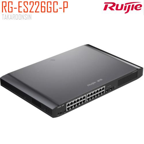 RUIJIE 26-Port Gigabit Smart POE Switch รุ่น RG-ES226GC-P
