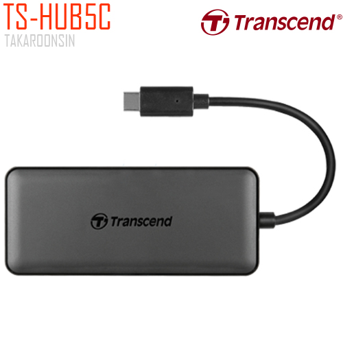 Transcend USB-C 6 in 1 Hub with PD (TS-HUB5C)