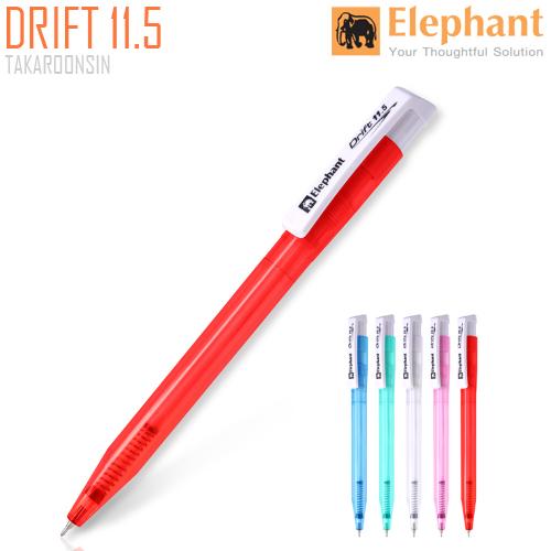 ปากกาลูกลื่น 0.5มม. ตราช้าง Drift  DRIFT 11.5