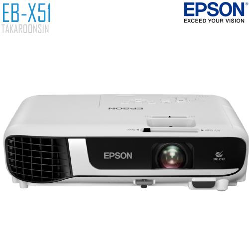โปรเจคเตอร์ EPSON รุ่น EB-X51