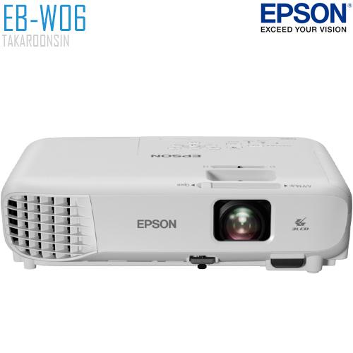 โปรเจคเตอร์ EPSON รุ่น EB-W06
