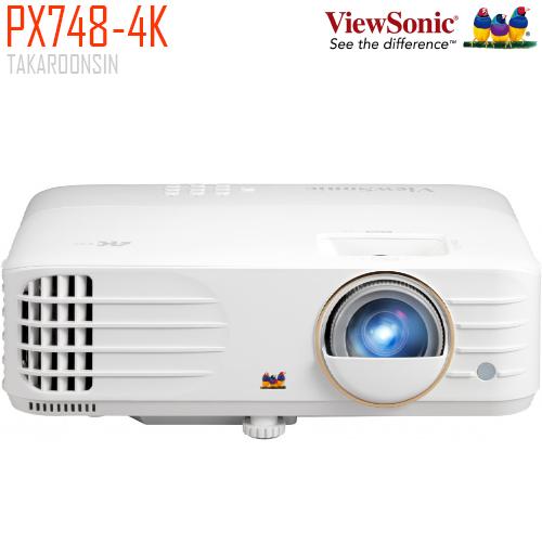 โปรเจคเตอร์ VIEWSONIC PX748-4K