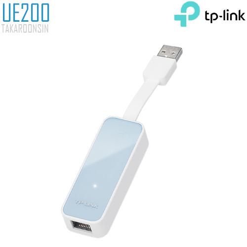 Adapter TP-Link UE200 แปลง USB ให้เป็นช่องแลน
