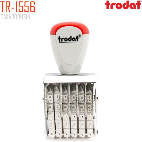 ตรายางตัวเลข 6 หลัก 5มม. TRODAT TR-1556