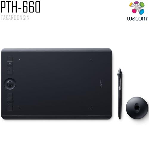 เมาส์ปากกา Wacom Intuos Pro M (PTH-660/K0-CK)