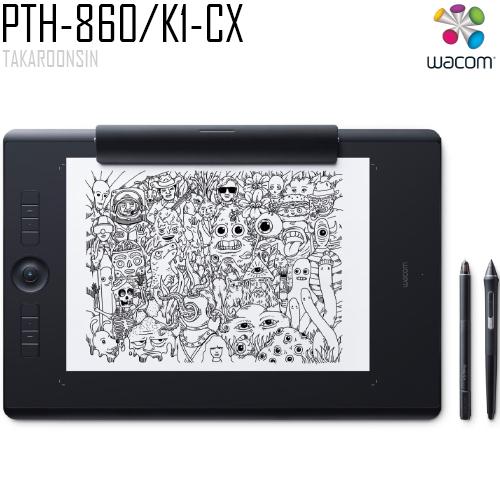 เมาส์ปากกา Wacom Intuos Pro L Paper (PTH-860/K1-CX)