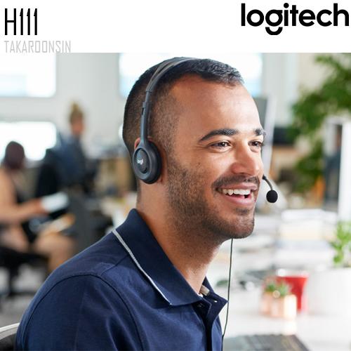 หูฟัง Logitech H111 STEREO HEADSET