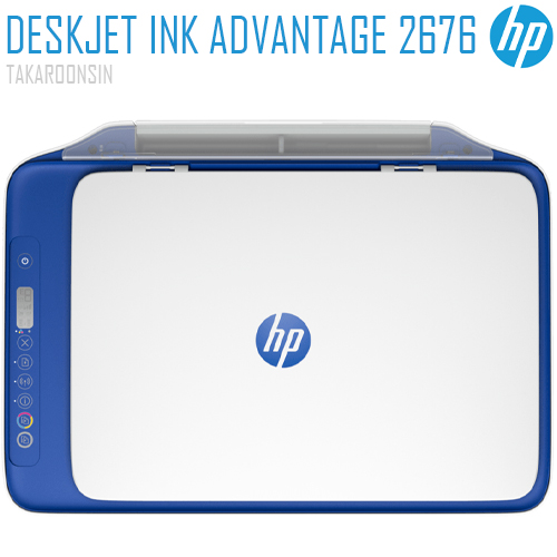 เครื่องพิมพ์ HP DeskJet Ink Advantage 2676 All-in-One Printer (Y5Z03B)