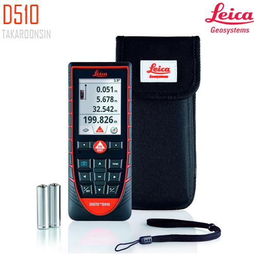 เครื่องวัดระยะดิจิตอล Leica Geosystems Disto D510