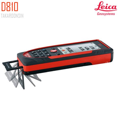 เครื่องวัดระยะดิจิตอล Leica Geosystems Disto D810