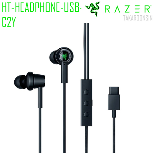 หูฟัง RAZER HEADPHONE HAMMERHEAD ANC USB-C